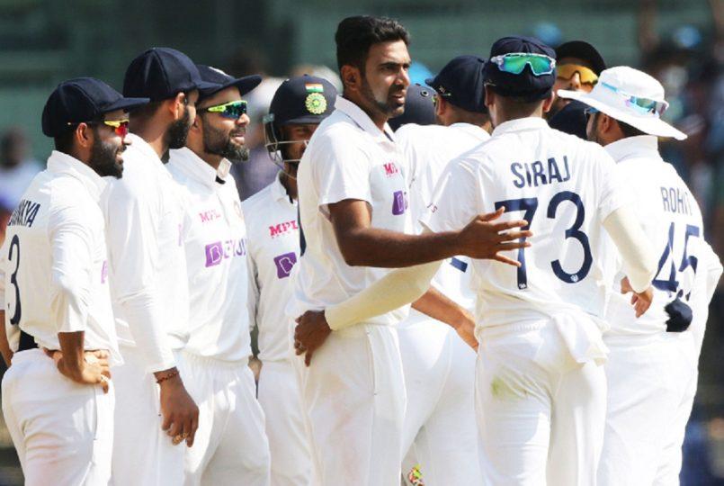 India wins second test match