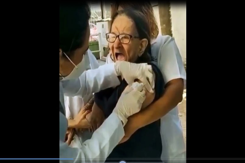 old lady video viral