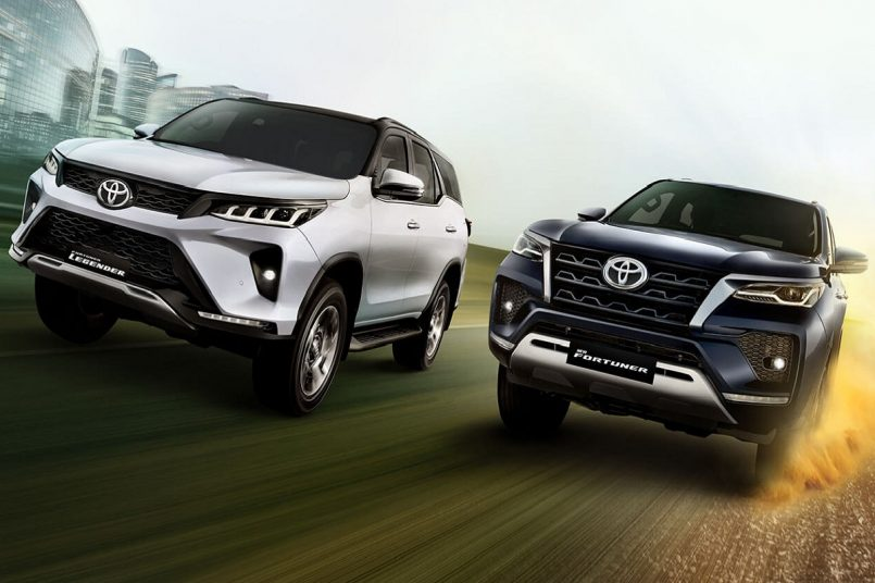 Toyota fortuner best selling suv