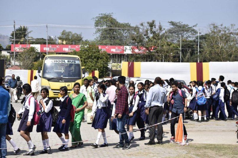 haryana school Students