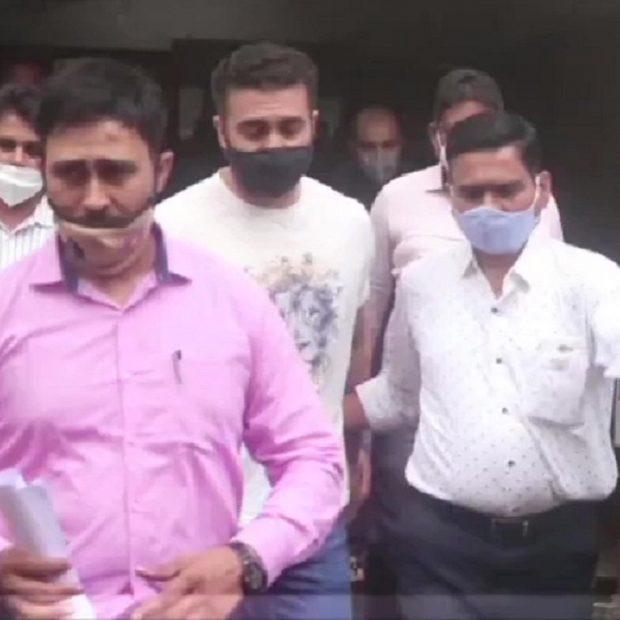 Police Raid On Raj Kundra House
