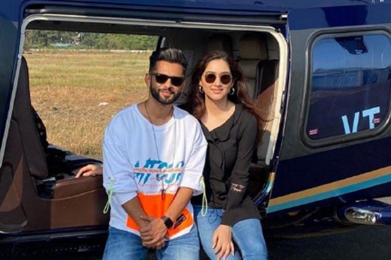 Rahul and Disha Parmar