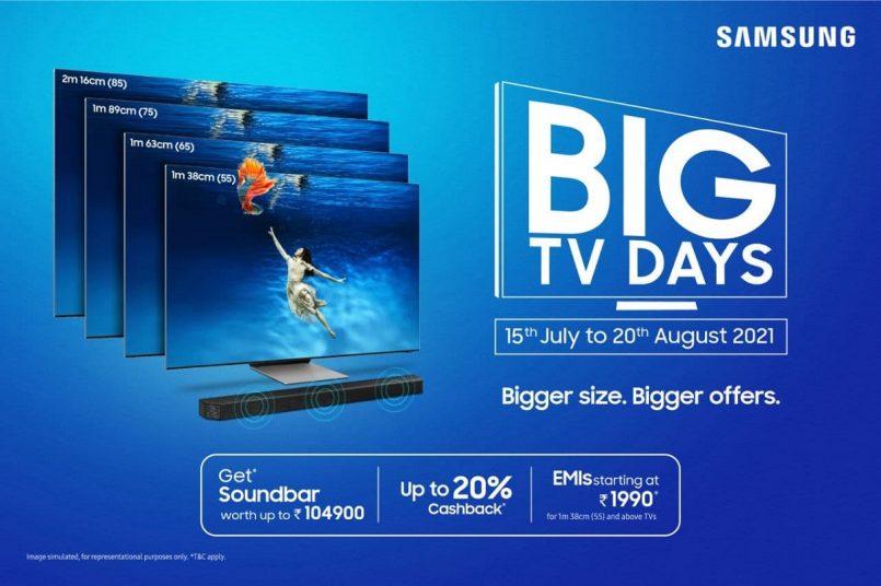 Samsung Big TV Days Sale