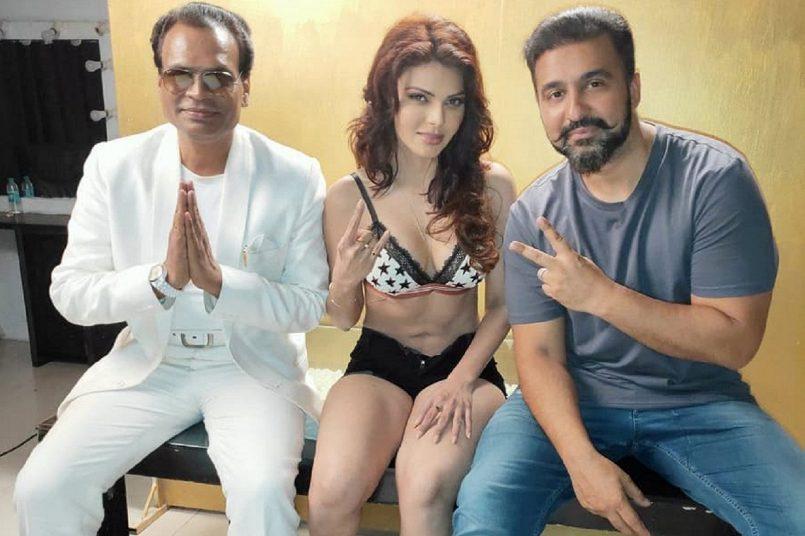 Sherlyn Chopra With Raj Kundra