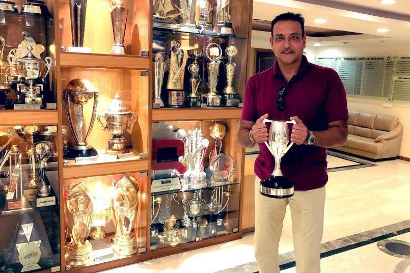 Ravi Shastri Twitter