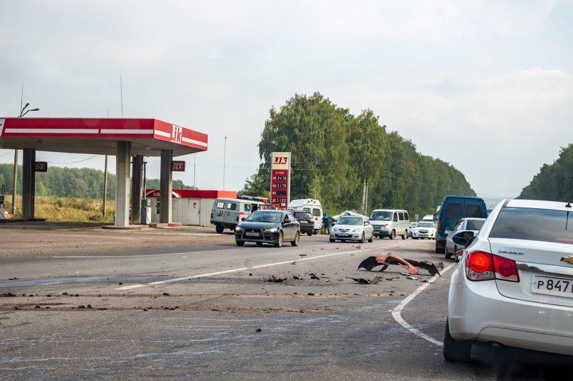 Road Accident in Jhansi