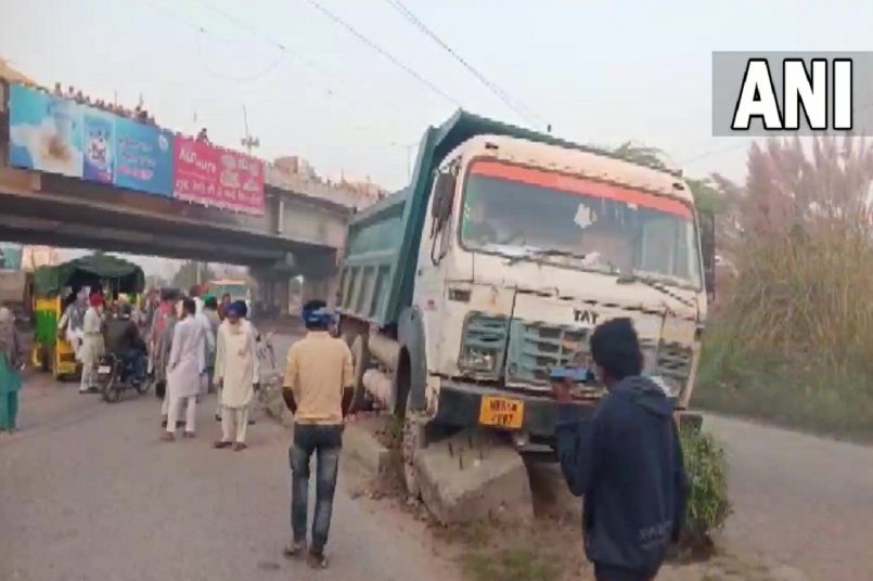 Road Accident in bahadurgarh